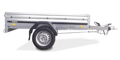 Brenderup trailer 1205SB 750kg