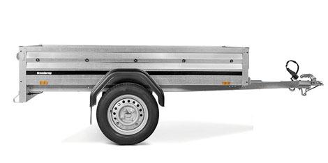 Brenderup trailer 1205 S 500kg