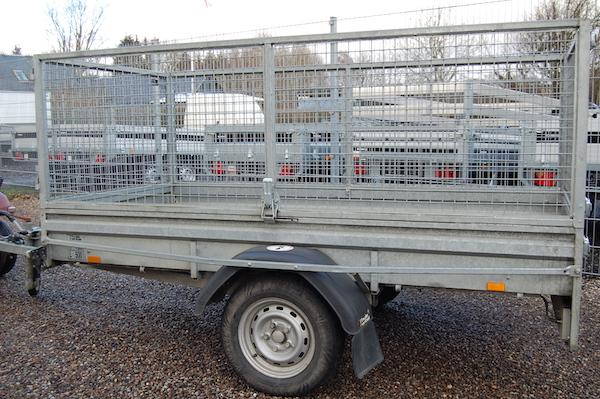 Brenderup netsidetrailer 750 kg Rental resale