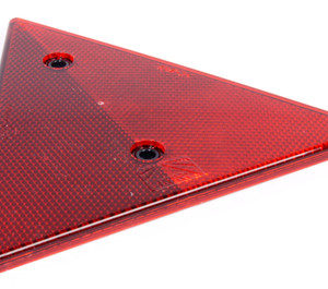 Refleks, rød trekant