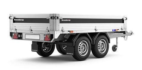 Brenderup trailer 4260AT 750kg