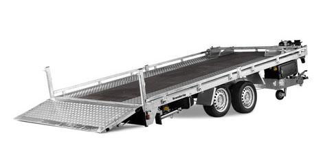 Brenderup trailer 6520 3500kg
