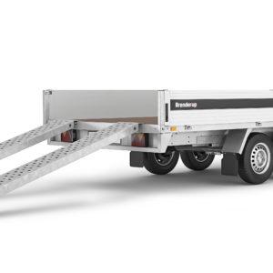 Slisker, lang 3-vejs-tipper, aluminium