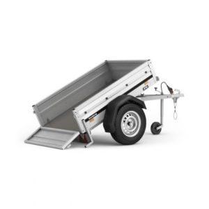 Brenderup trailer 1150S TILT 500kg