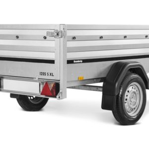 Brenderup trailer 1205SXL Tilt 750kg