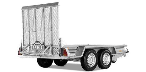 Brenderup maskintransporter MT-3080 2700kg