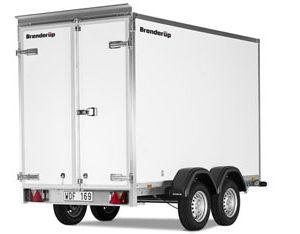 7300 TB, model F 2000 kg. (med døre)