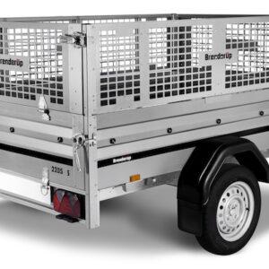 Netsider 50 cm til Brenderup trailer 2205