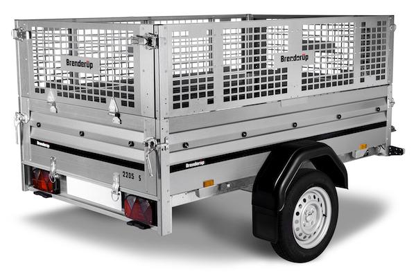 Netsider 80 cm til Brenderup trailer 2205
