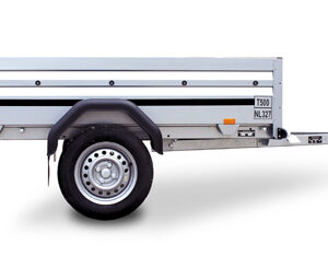 Brenderup trailer 2205 WESUB 750kg Lækker svejst trailer