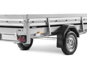 Brenderup 2260 WSB tip 1000kg trailer