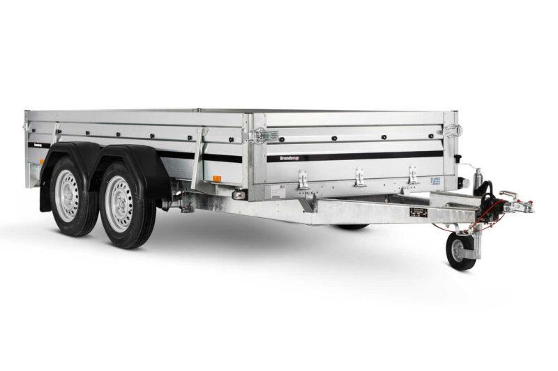 Brenderup trailer 2300STB2500kg. En lavetbygget trailer med stor lastevne