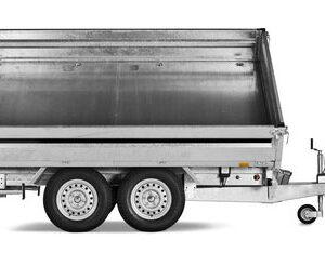 Brenderup trailer 3-vejs-tipper 3500kg lang
