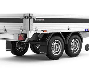 En boogie trailer fra Brenderup trailer 4260ATUB 750kg
