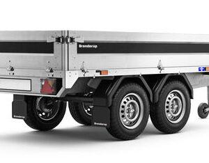 Brenderup trailer 4260STUB 750kg. Lækker boogie trailer