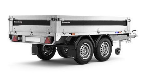 Brenderup trailer 4260STB 1300kg en lækker boogie trailer med masser af finesser