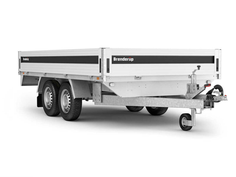 En super handy 5325ATB 1800kg fra Brenderup trailer