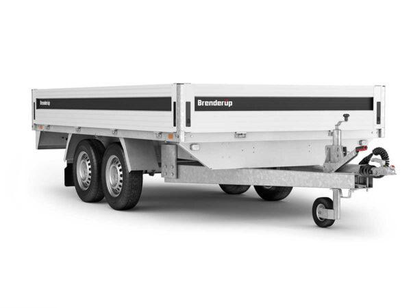 En lækker boogie trailer fra Brenderup trailer 5375ATB 3000kg