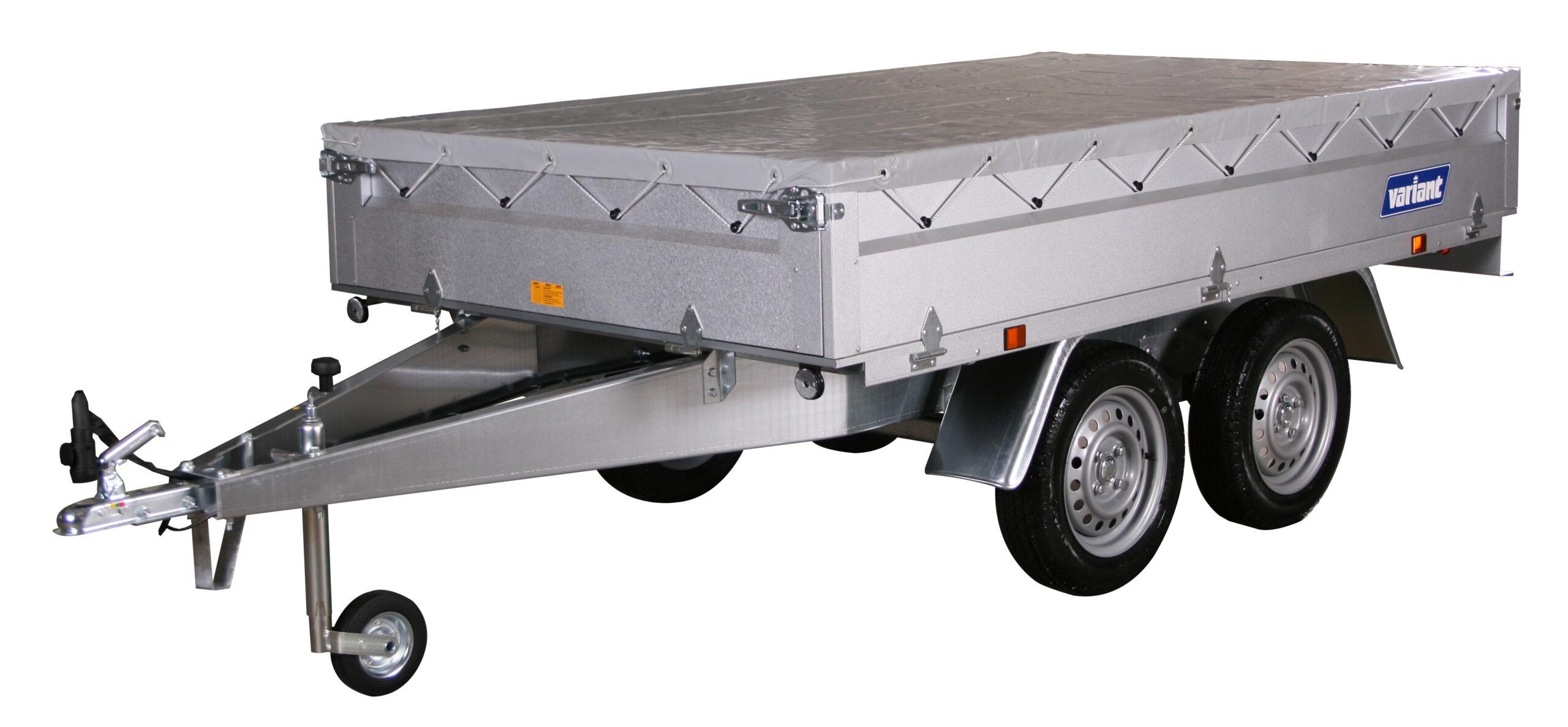 Variant 756 A-13 stål Boogietrailer 500-750kg