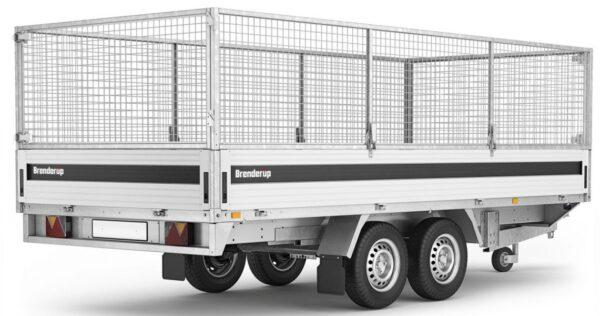 Netsider 80 cm til Brenderup trailer bred 5520W