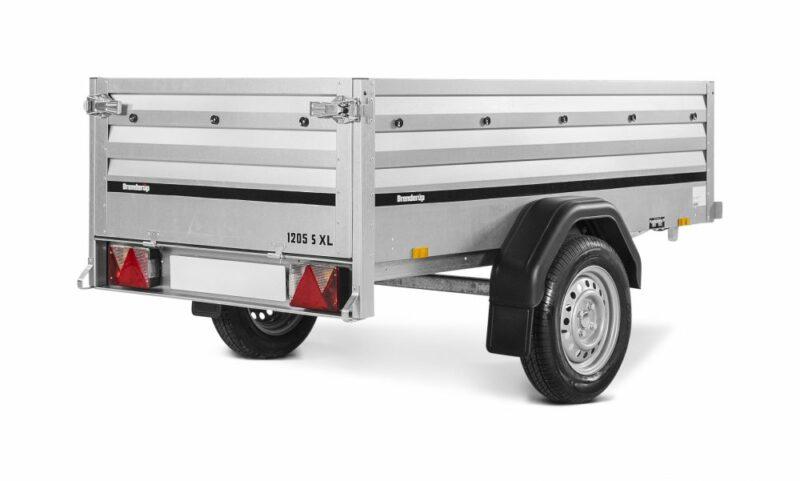 Brenderup trailer 1205S XL Tilt 750kg