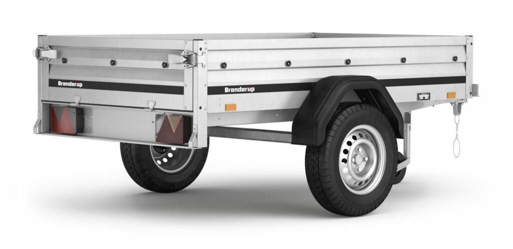 Brenderup trailer 1205S UB tilt 500kg