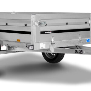 Brenderup trailer 2205S UB 500kg . En super handy trailer