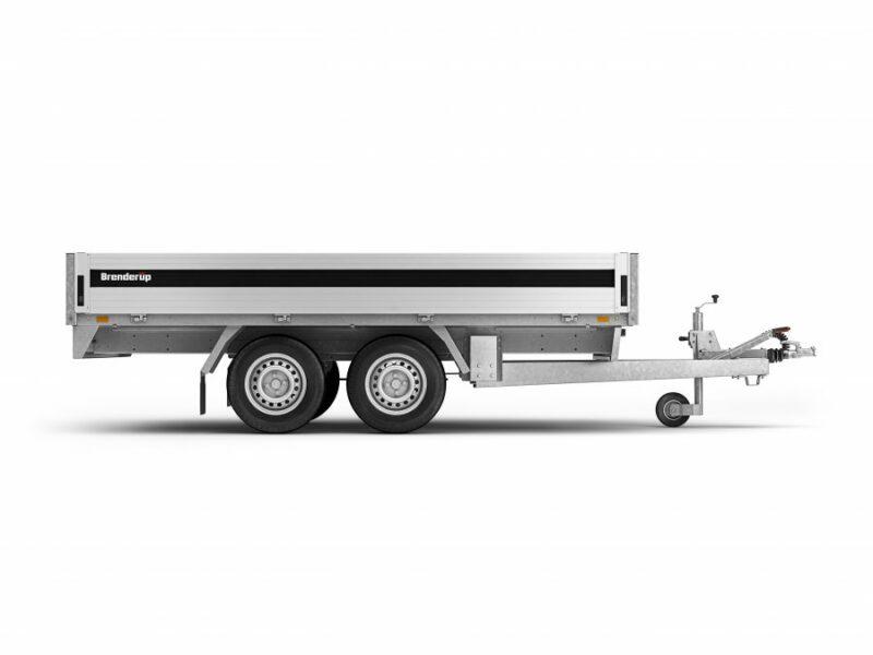 Brenderup trailer 5325 3000 kg En rigtigt god boogie trailer