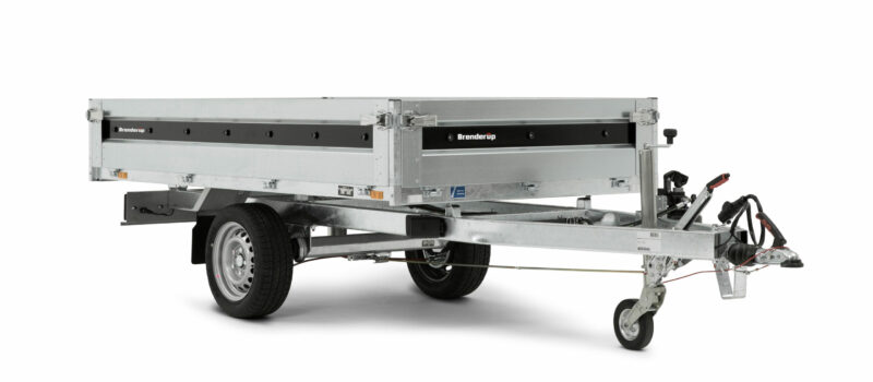 Brenderup trailer 4260SB 1200kg er en super handy 1 akslet trailer