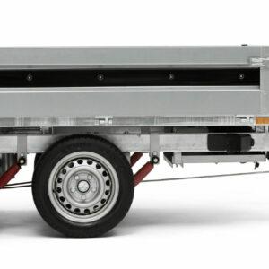 Lækker boogie trailer fra Brenderup trailer 4310STB 2000kg