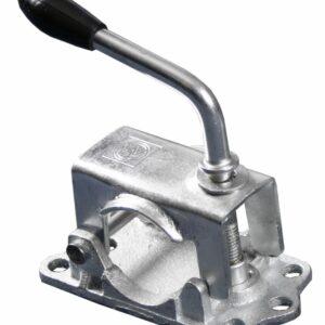 Spændebeslag til støttehjul i støbejern