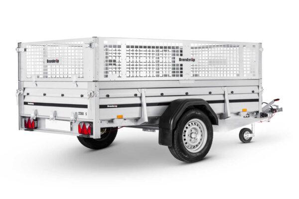 Netsider 50 cm til Brenderup trailer 2260