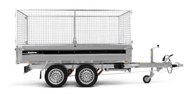 Netsider 60 cm til Brenderup trailer Bagtipper