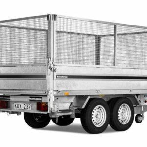 Netsider 80 cm til Brenderup trailer lang 3-vejs tip