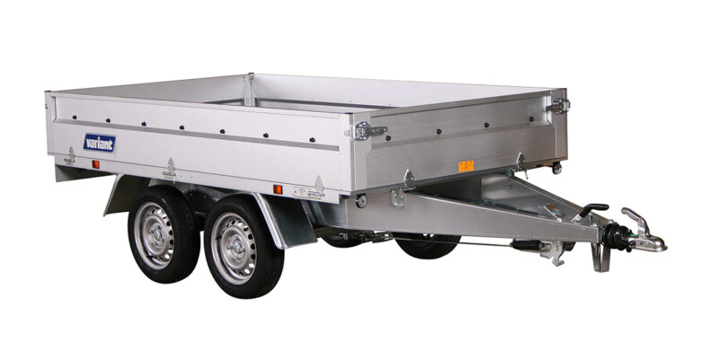 Variant 1306 B-13 stål Boogietrailer 900-1300kg