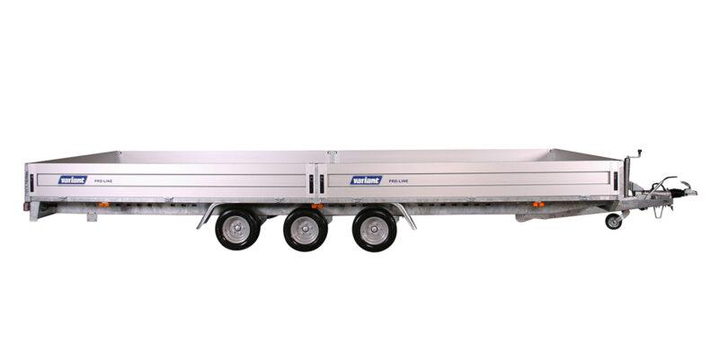 Variant trailer model 3325 med 3 aksler