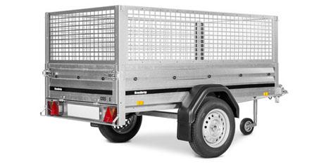 Netsider 50 cm til Brenderup trailer 1150