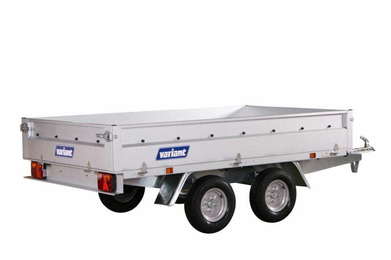 Variant 756 A-10 stål Boogietrailer 500-750kg
