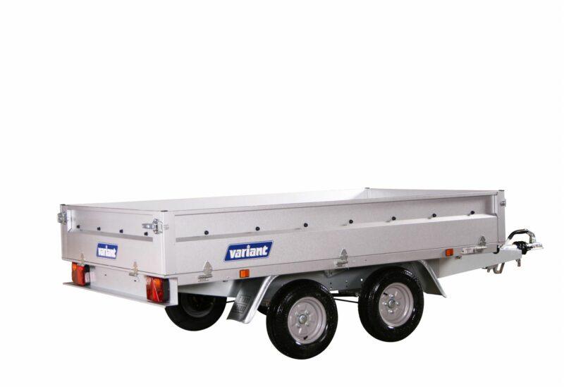 Variant 1306 B-10 stål Boogietrailer 900-1300kg